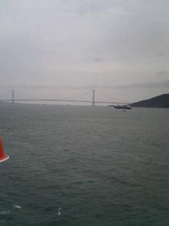 ♯52  明石海峡大橋通過!